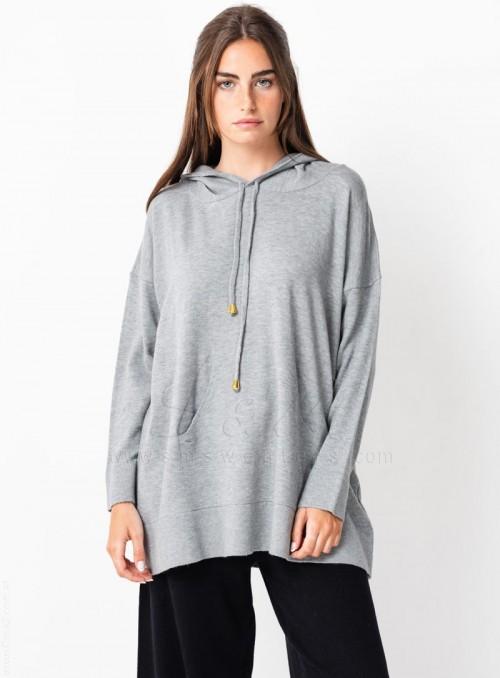 Sweaters capucha canguro de...