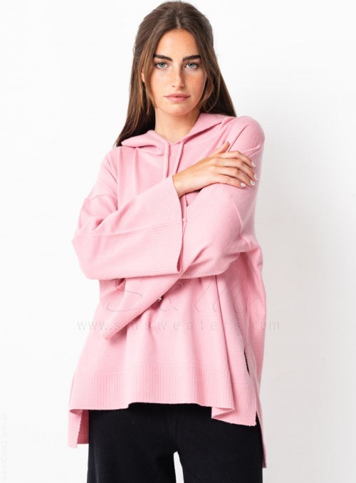 Sweaters capucha manga oxford